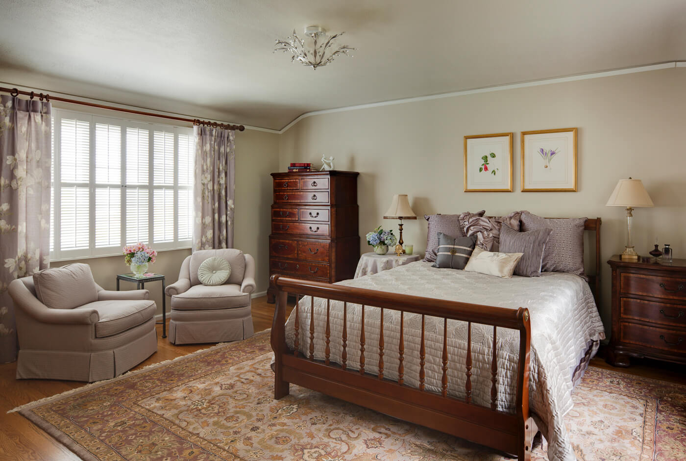 Piedmont Bedroom Suite Remodel-Bedroom – Moore Design Group